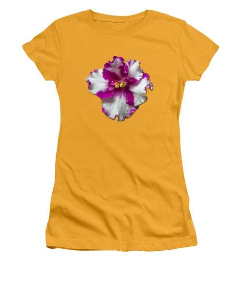 Hot Pink Flower Women's T-Shirt (Junior Cut) by Bob Slitzan