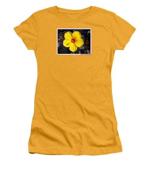 I Choose To Become Women's T-Shirt (Junior Cut)