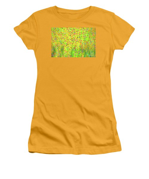 Impressionist Meadow Women's T-Shirt (Junior Cut)
