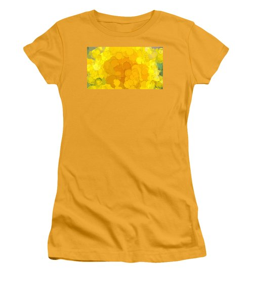 In Color Abstract 14 Women's T-Shirt (Athletic Fit)