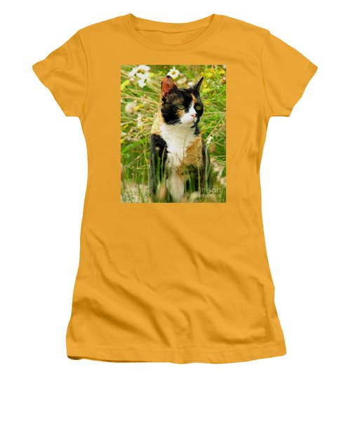 In Her Element Women's T-Shirt (Junior Cut) by Rory Sagner
