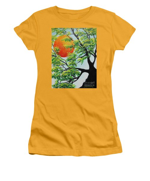 In His Time Women's T-Shirt (Athletic Fit)