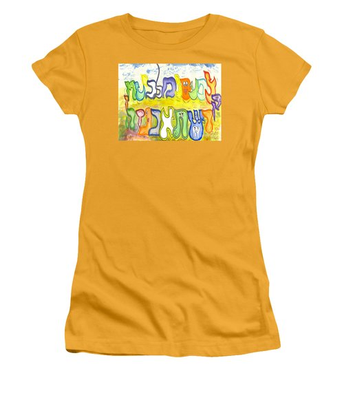 In The Field Women's T-Shirt (Athletic Fit)