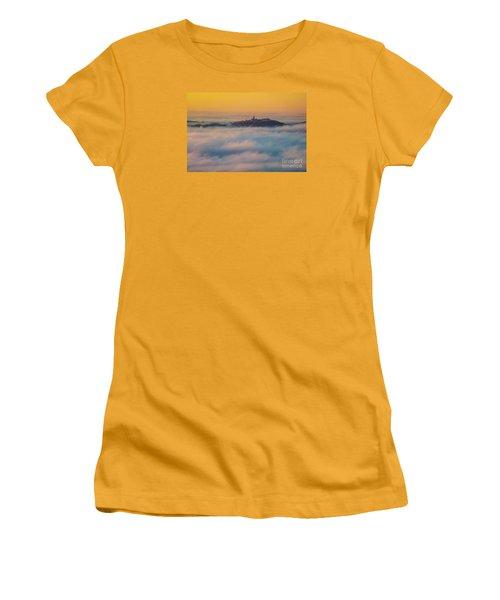 In The Mist 3 Women's T-Shirt (Junior Cut) by Jean Bernard Roussilhe
