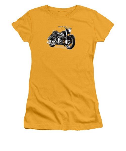 Indian Chief Roadmaster 1953 Women's T-Shirt (Junior Cut) by Mark Rogan