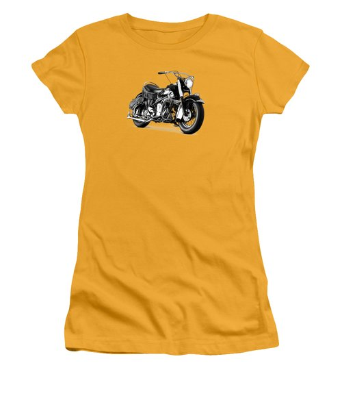Indian Chief Roadmaster 1953 Women's T-Shirt (Athletic Fit)