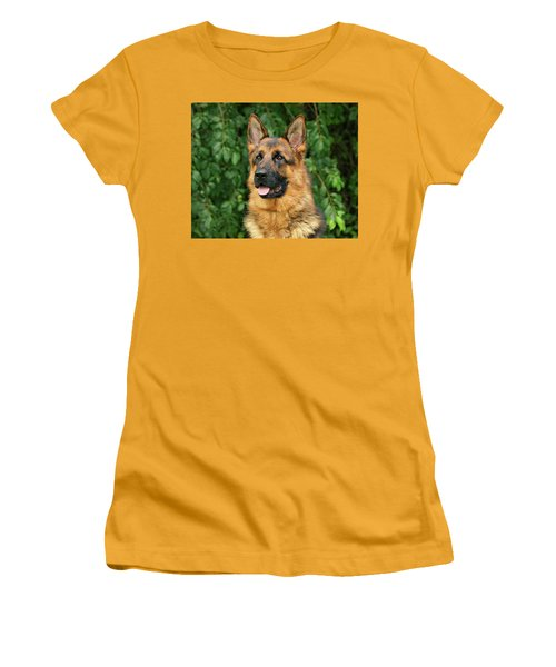Women's T-Shirt (Junior Cut) featuring the photograph Intriguing Ida by Sandy Keeton