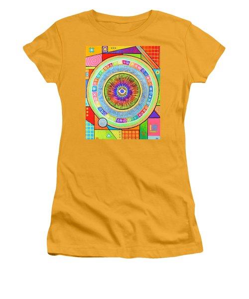 Iris Women's T-Shirt (Junior Cut) by Jeremy Aiyadurai