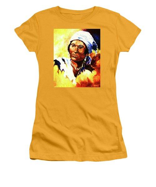 Island Woman II Women's T-Shirt (Athletic Fit)