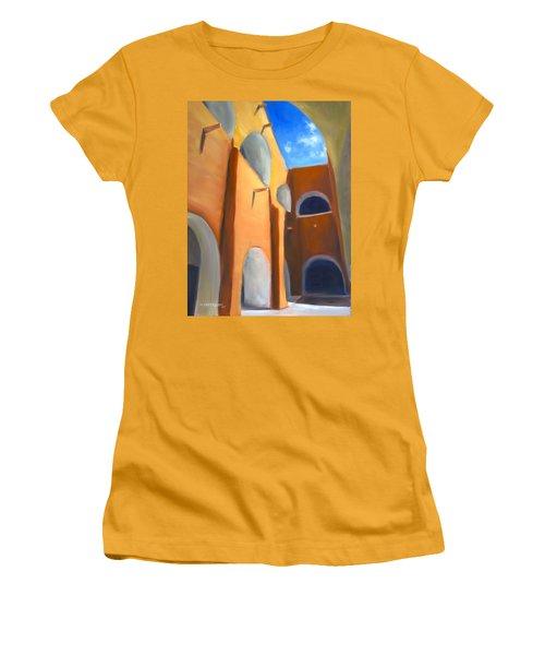 Izamal - Monastery San Antonio De Padua  Women's T-Shirt (Athletic Fit)
