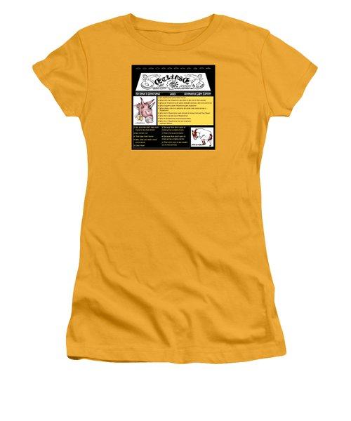 Real Fake News Muleicorn Jokes Women's T-Shirt (Athletic Fit)