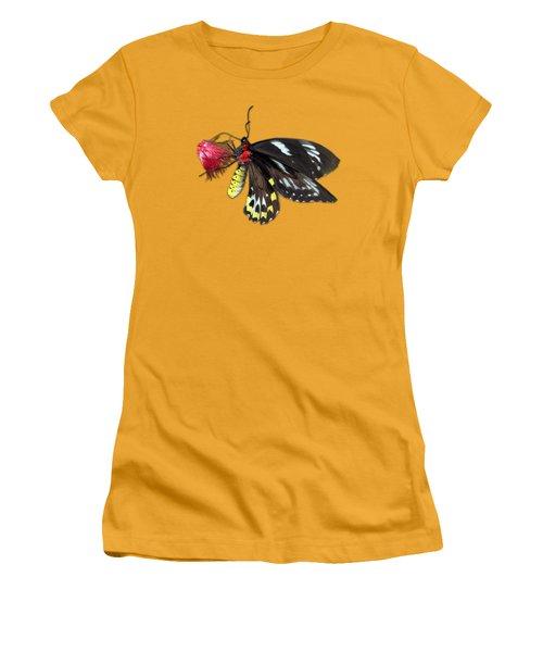 Key West Butterfly 12 Women's T-Shirt (Junior Cut) by Bob Slitzan