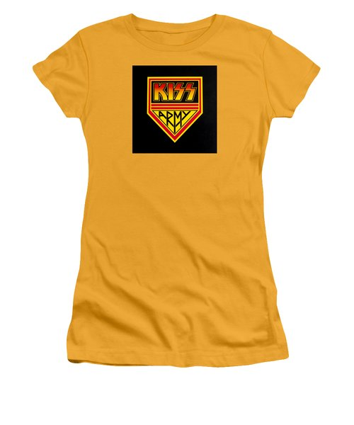 Kiss Army Women's T-Shirt (Junior Cut)