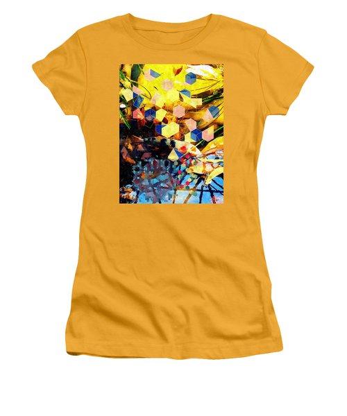 Koi  Women's T-Shirt (Junior Cut) by Karl Reid