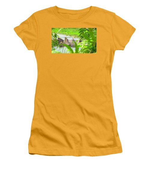Lake Overflow Women's T-Shirt (Athletic Fit)