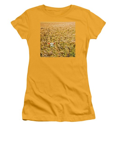 Lamb With Barley Women's T-Shirt (Athletic Fit)