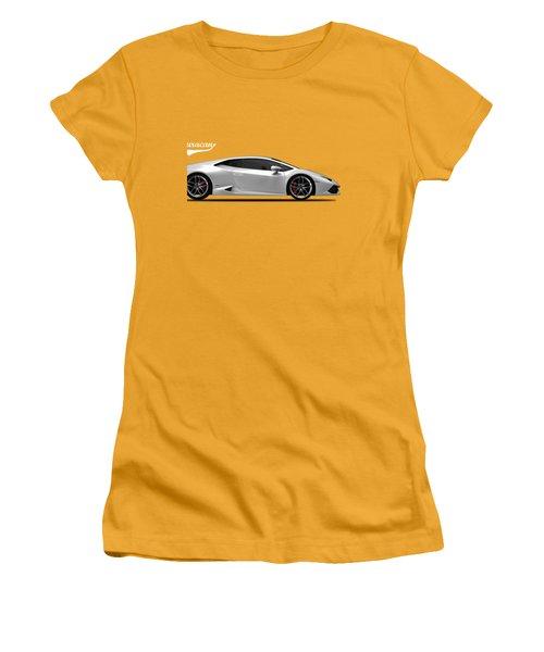 Lamborghini Huracan Women's T-Shirt (Junior Cut) by Mark Rogan
