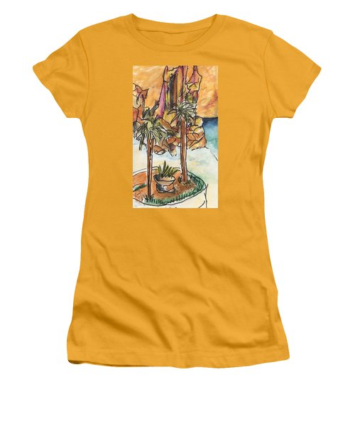 Lands End Cabo  Women's T-Shirt (Athletic Fit)