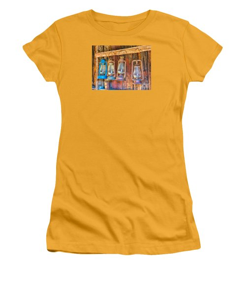 Lanterns In The Bodie Firehouse Women's T-Shirt (Athletic Fit)