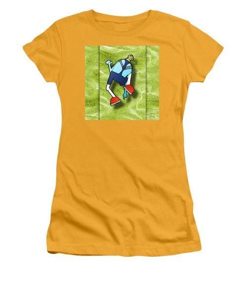 Women's T-Shirt (Junior Cut) featuring the digital art Lederhosen by Uncle J's Monsters