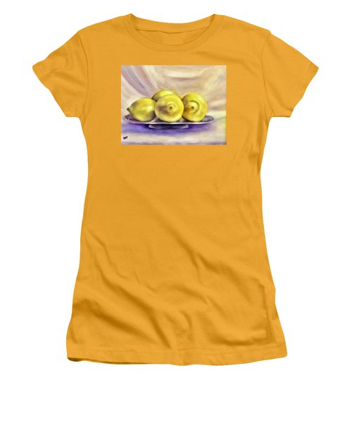 Lemon Drops Women's T-Shirt (Athletic Fit)