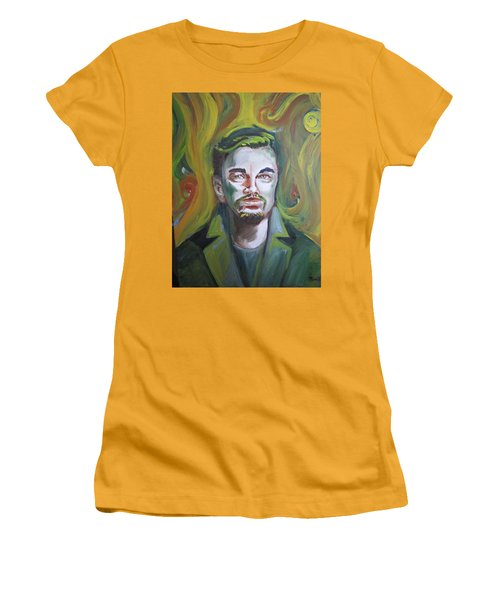 Leonardo Di Caprio Women's T-Shirt (Athletic Fit)