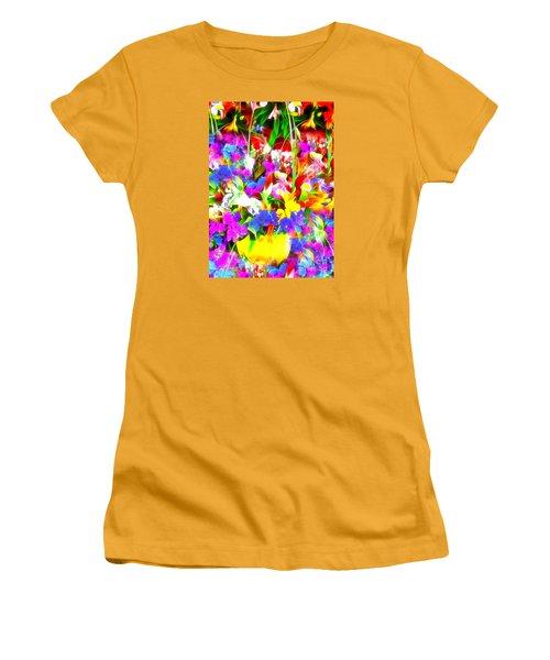 Les Jolies Fleurs Women's T-Shirt (Junior Cut) by Jack Torcello