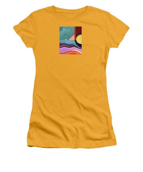 Let It Shine Women's T-Shirt (Athletic Fit)