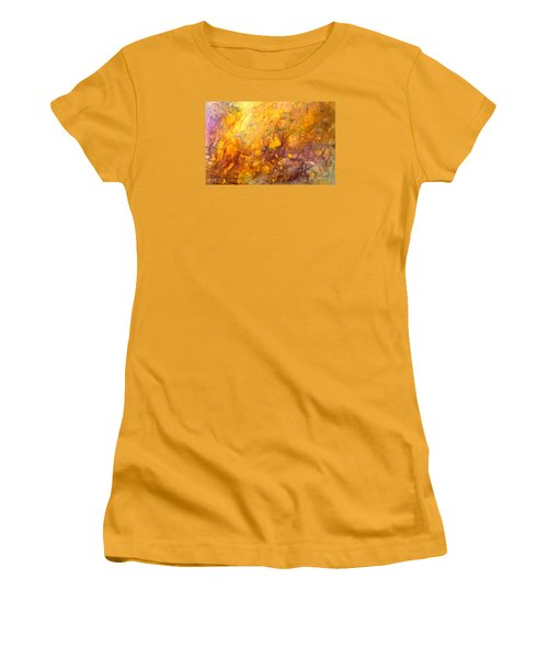Letting The Sunshine In Women's T-Shirt (Junior Cut) by Valerie Travers