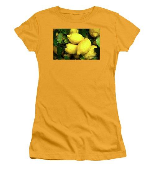 Life Gives You Lemons Women's T-Shirt (Junior Cut) by Sandy Molinaro