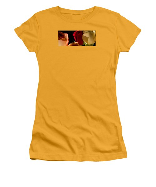 Light And Roses Women's T-Shirt (Athletic Fit)