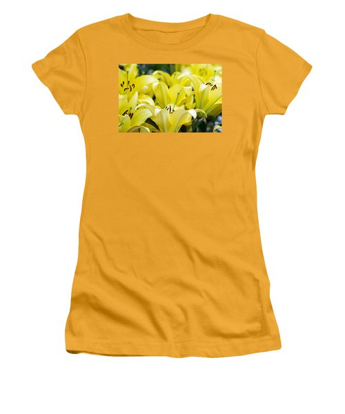 Lilies Of The Field #2 Women's T-Shirt (Athletic Fit)
