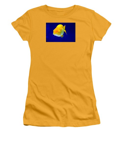 Lion Head Goldfish 5 Women's T-Shirt (Athletic Fit)