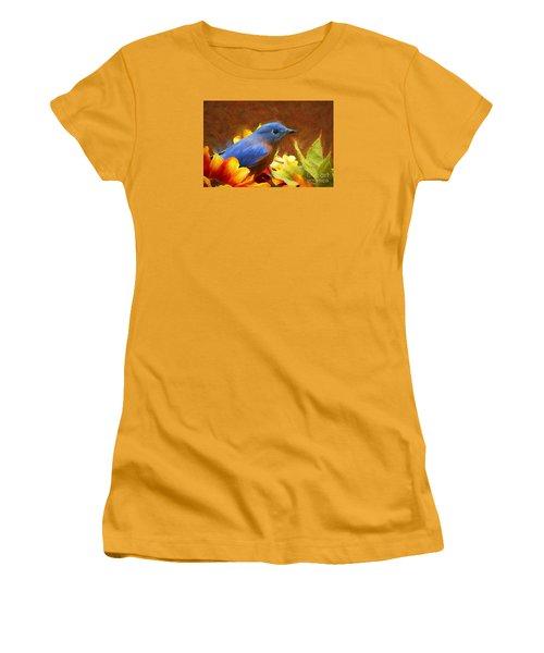 Little Boy Blue Women's T-Shirt (Junior Cut) by Tina  LeCour