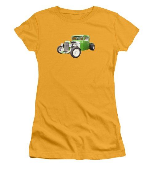 Little Green 32 Women's T-Shirt (Junior Cut) by Keith Hawley