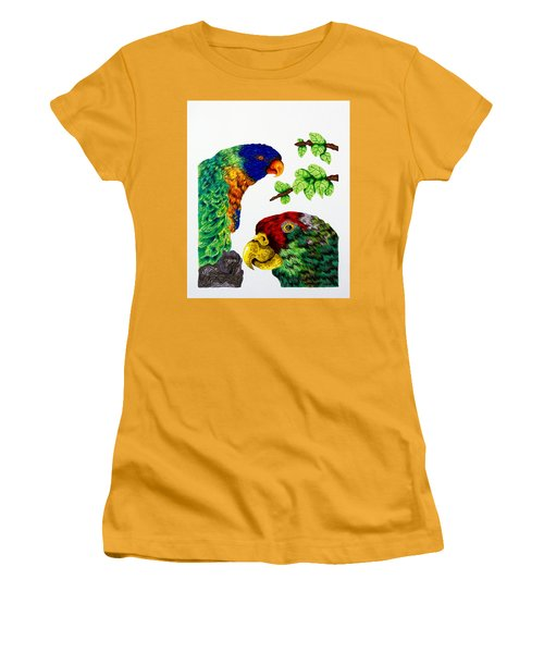 Lorikeets Women's T-Shirt (Athletic Fit)