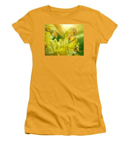 Love Among The Daffodils Women's T-Shirt (Athletic Fit)