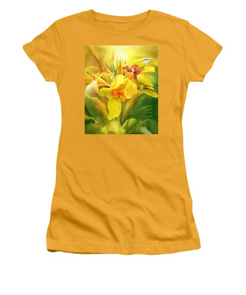 Love Among The Orchids Women's T-Shirt (Athletic Fit)