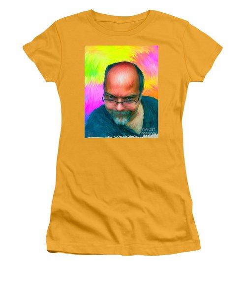 Malcolm Humes Women's T-Shirt (Junior Cut) by Gerhardt Isringhaus
