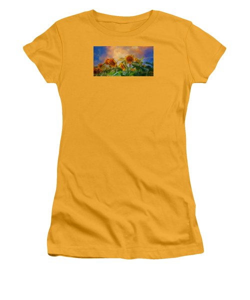 Man It's A Hot One Women's T-Shirt (Junior Cut) by Colleen Taylor