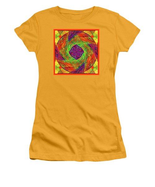Mandala #55 Women's T-Shirt (Junior Cut) by Loko Suederdiek
