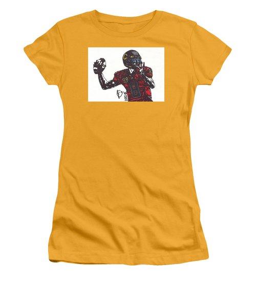 Marcus Mariota 1 Women's T-Shirt (Junior Cut) by Jeremiah Colley