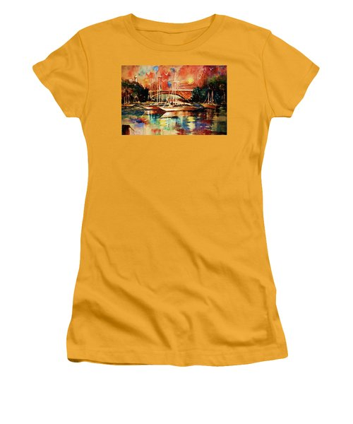Marina Women's T-Shirt (Junior Cut) by Al Brown