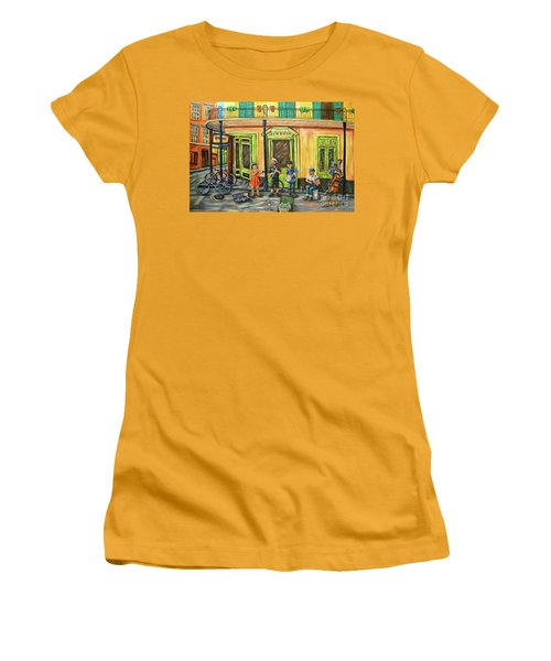 Market Musicians Women's T-Shirt (Athletic Fit)