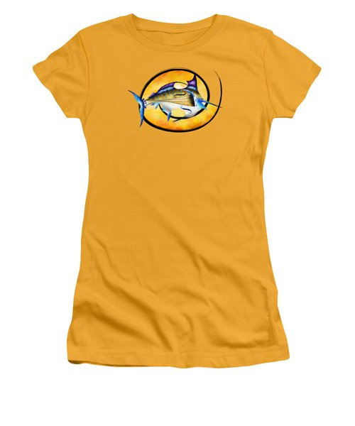 Marlinissos V1 - Violinfish Women's T-Shirt (Junior Cut) by Cersatti