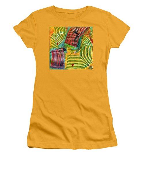 Mazteca Women's T-Shirt (Junior Cut) by Phil Strang