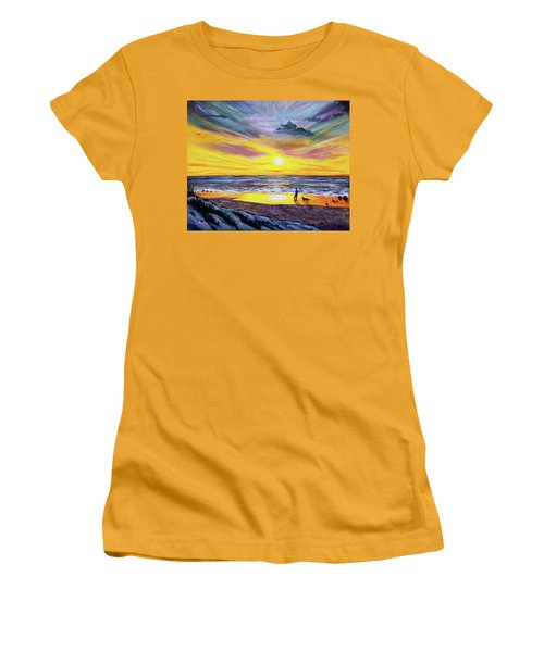 Memories Of My Father Women's T-Shirt (Athletic Fit)