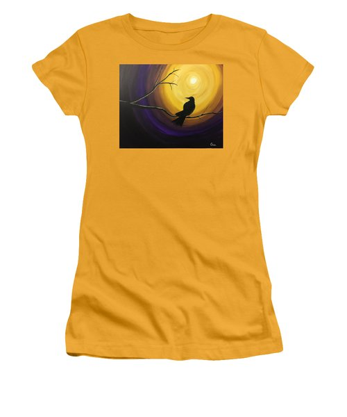 Midnight Raven Women's T-Shirt (Athletic Fit)