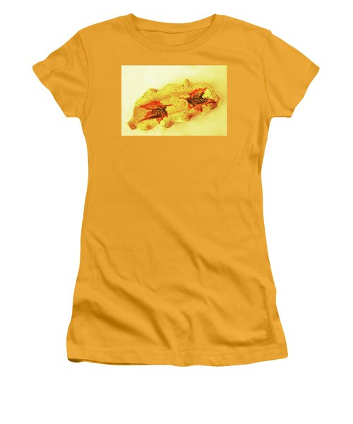 Mini Long Bowl Women's T-Shirt (Junior Cut) by Itzhak Richter