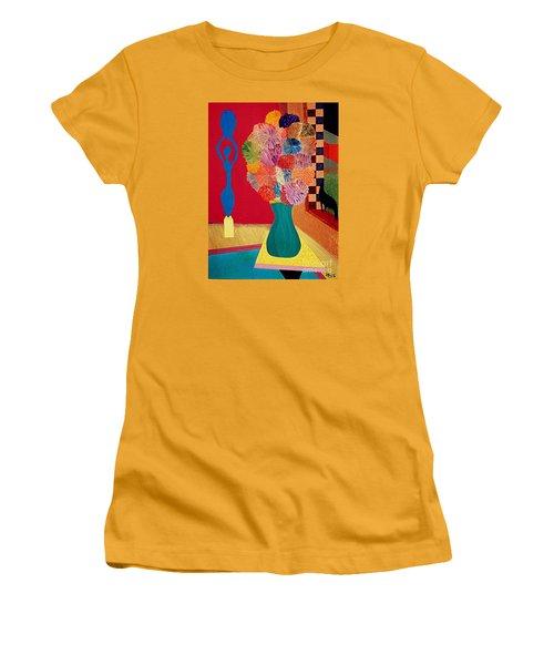 Missing Henri Women's T-Shirt (Junior Cut) by Bill OConnor
